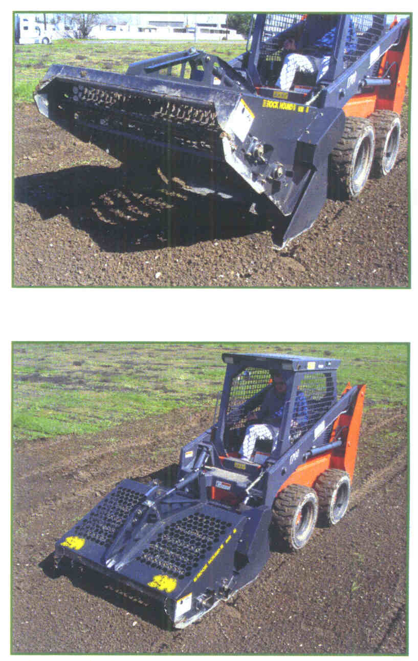 Mounts To Skid Steer Loaders