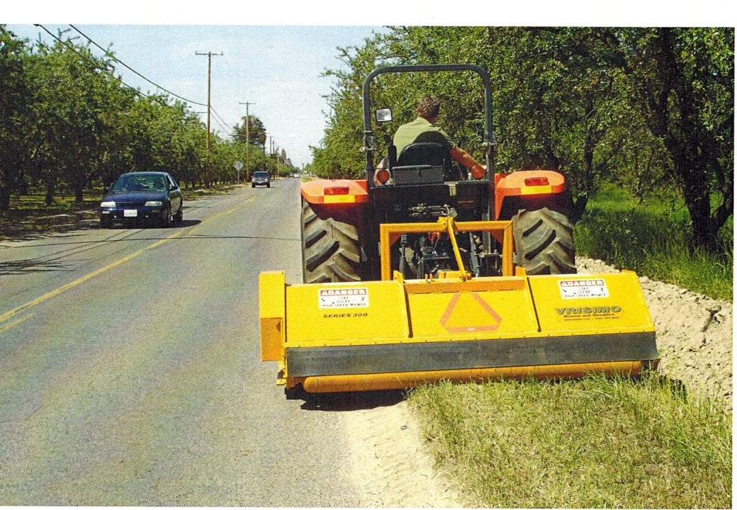 Vrisimo Roadsider Series PTO Powered, Tractor Mounted Severe Duty Flailmower