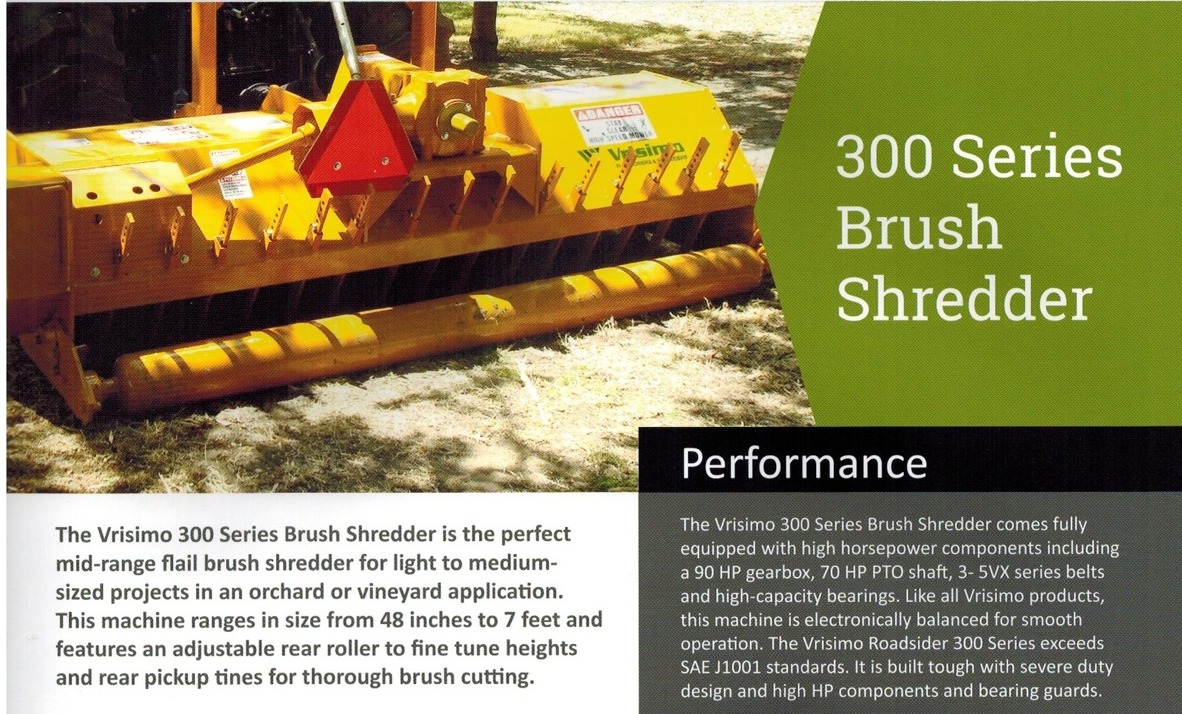 S-300 Series Vrisimo Brush Shredder