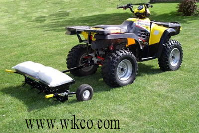 Tow Behind Versions Can Be Towed With ATVs, Garden Tractors, And Commercial Mowers