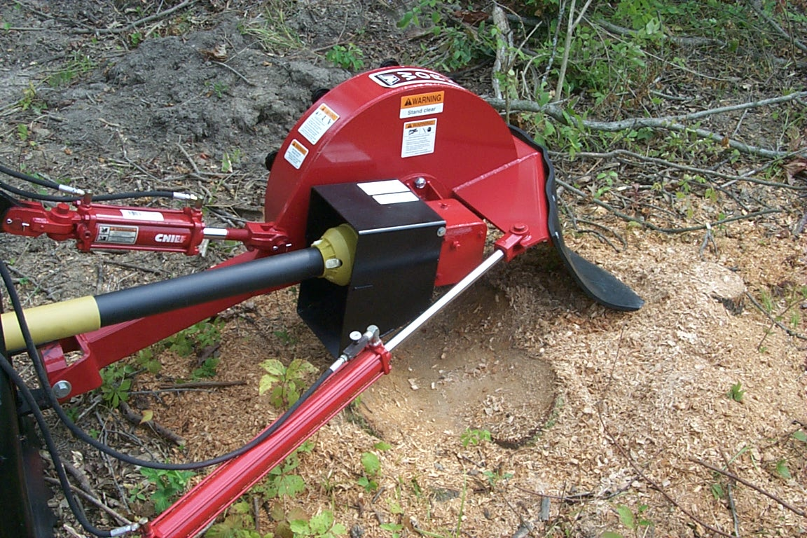 SG Series Tractor Mounted Stump Grinders