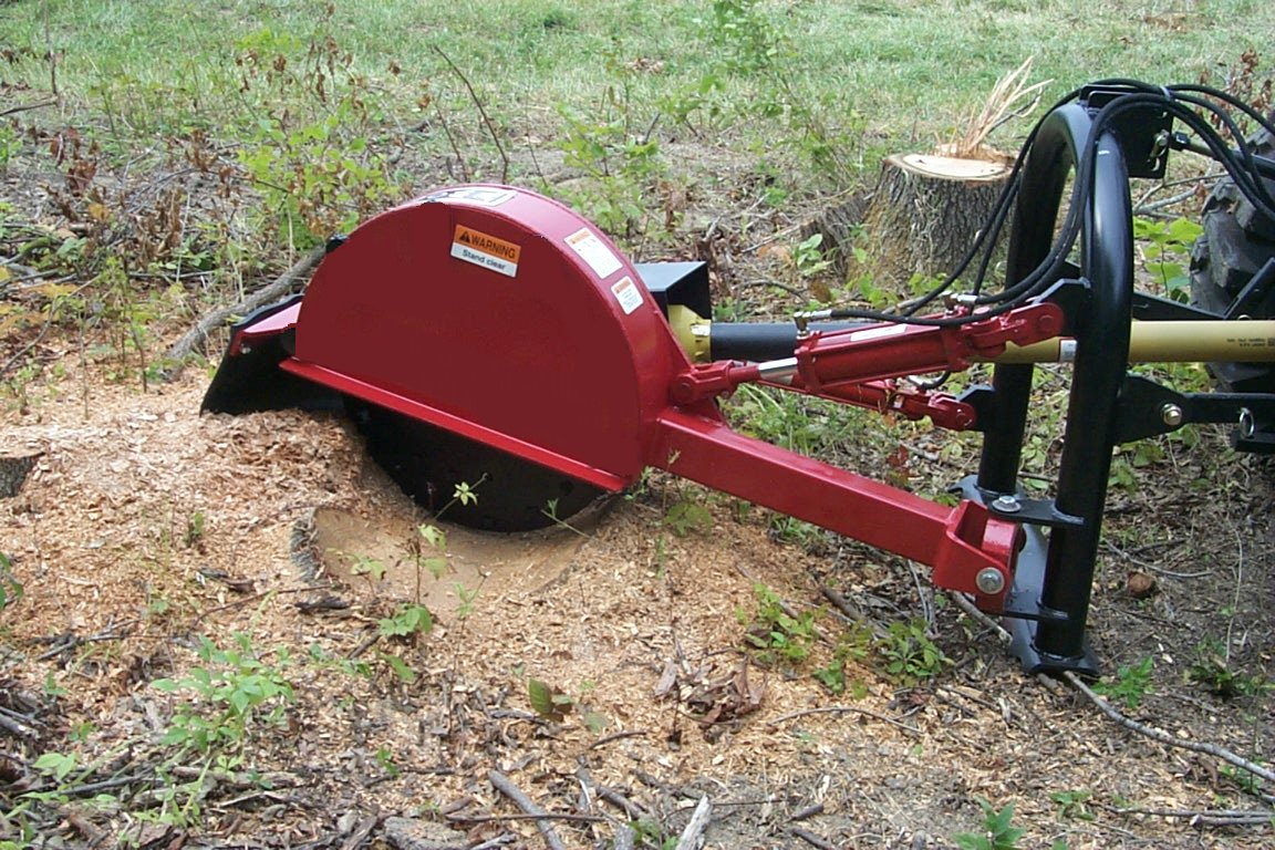 SG Series Tractor Mounted, PTO Powered Stump Grinders
