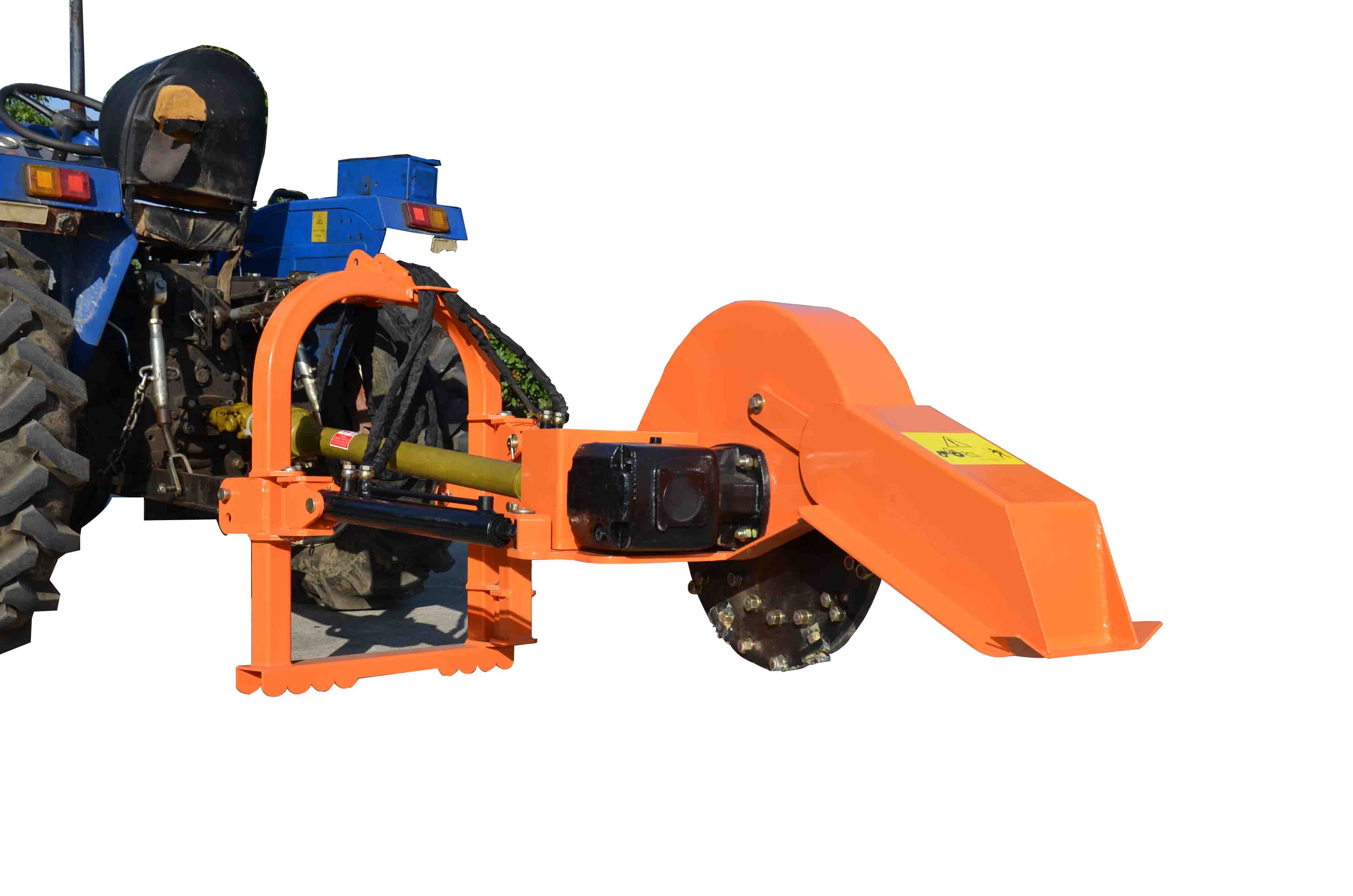 Model SG24PRO Tractor Mounted PTO Driven Stump Grinder