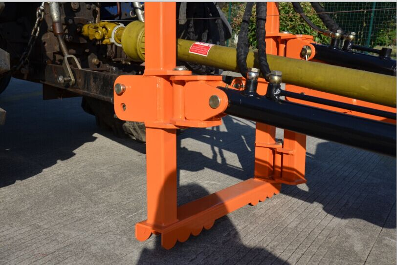 Stump Grinder Frame With Stabilizer Feet