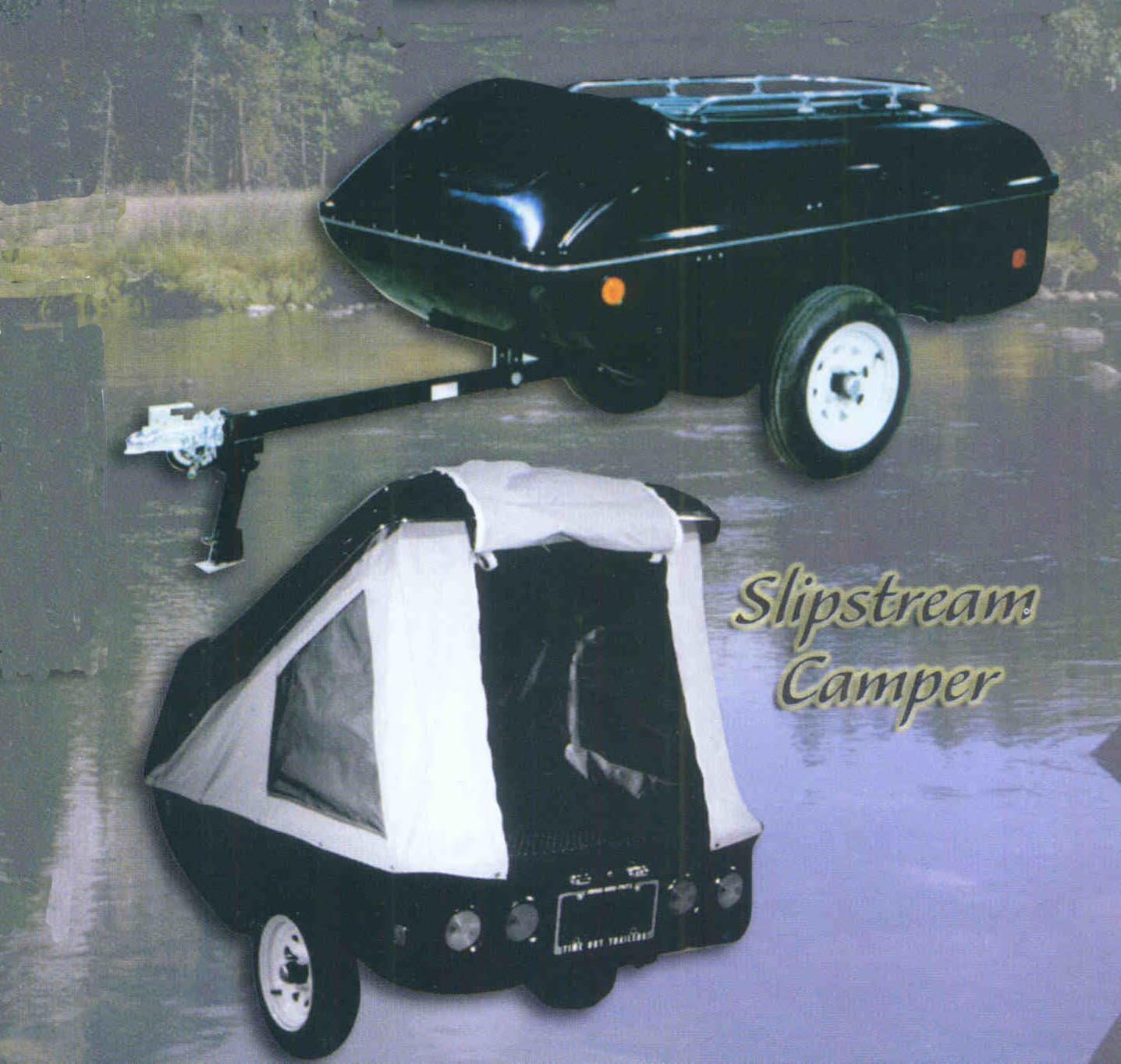 Slipstream Cargo Trailer With Roof Rack Option