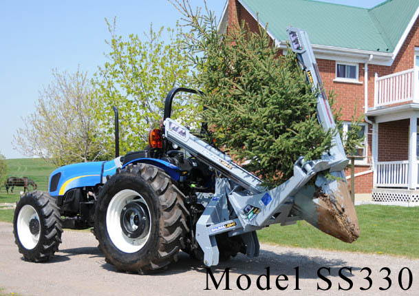 Model SS330 Mounted On Three Point Hitch