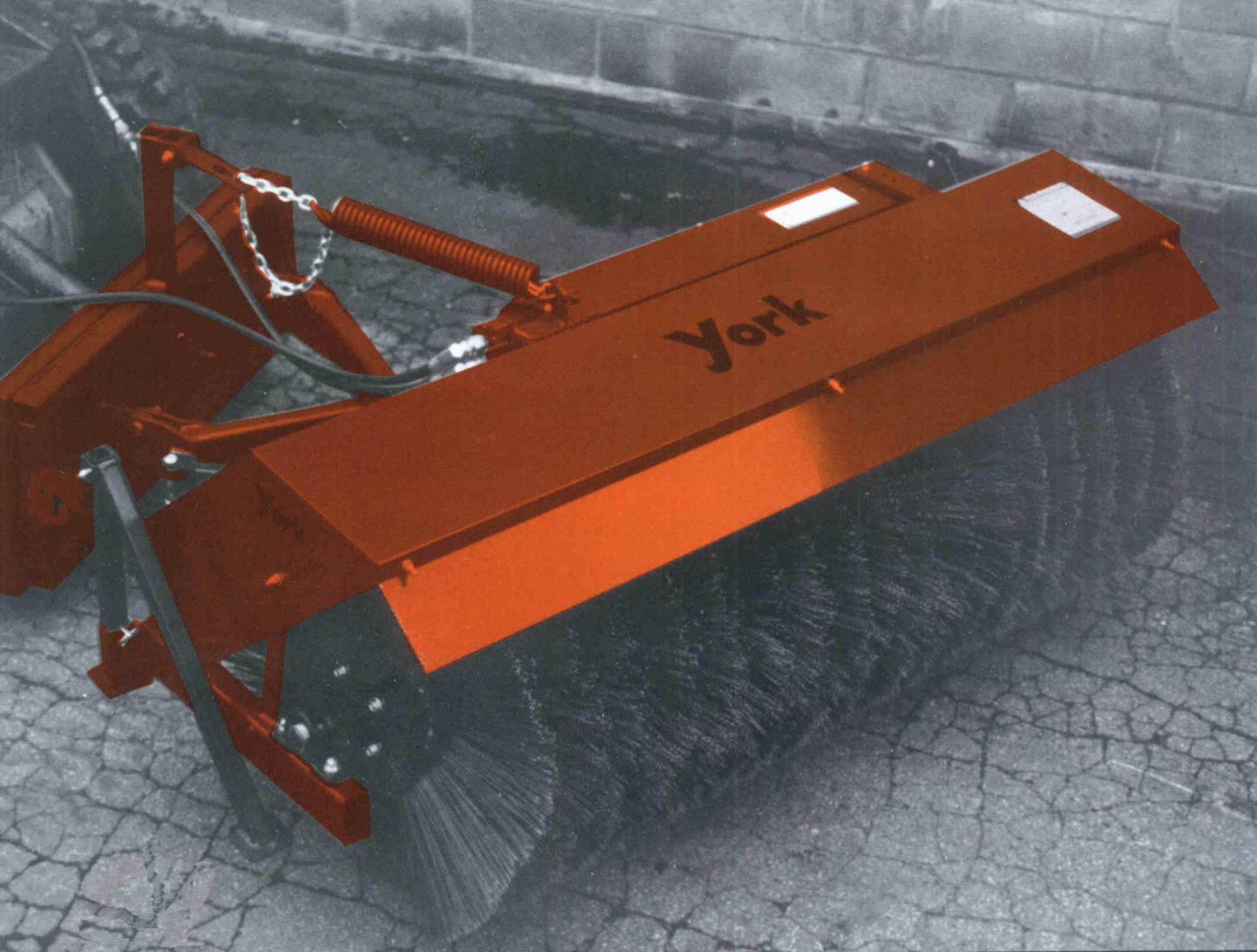 Hydraulic Powered Skid Steer Mounted Sweepers