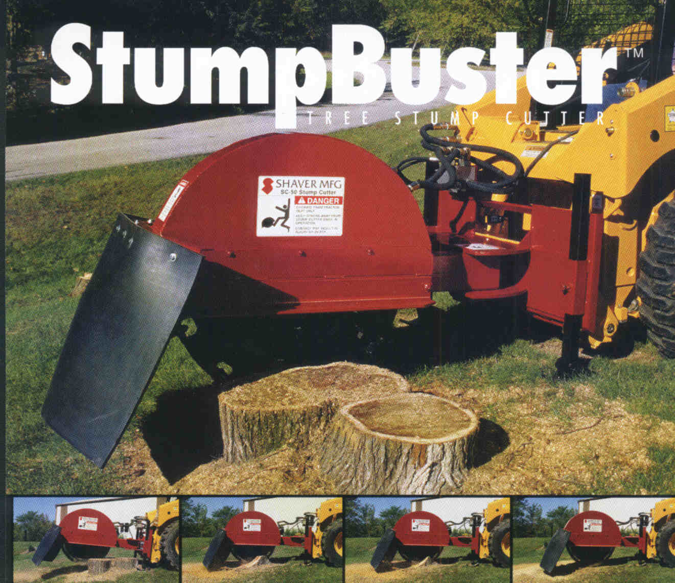 Mounts On Skid Steer Loaders - Designed For Commercial Use