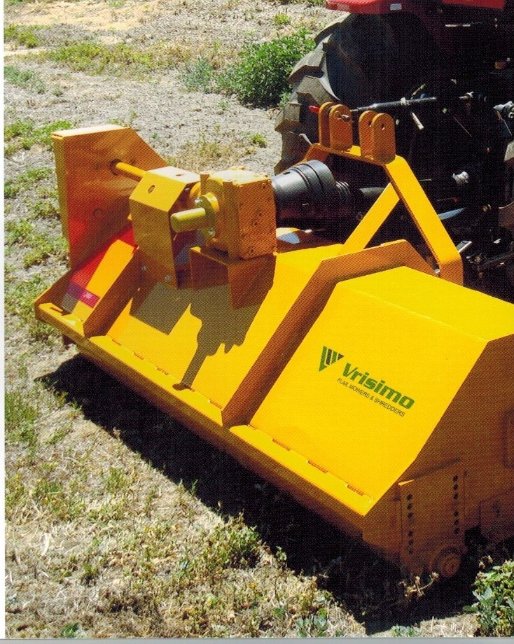Super Series Vrisimo Flail Mower For 30 To 60 HP Tractors, 0.5 inch to 1 inch cutting Capacity