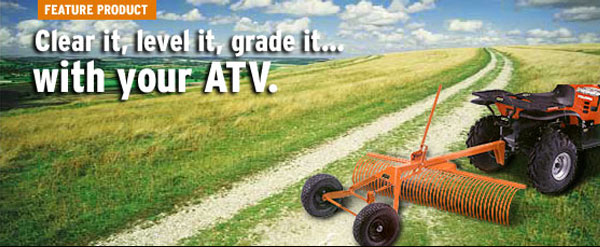 - Tow Behind Landscape Rakes