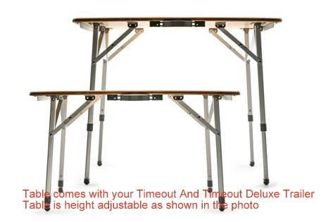Portable, Foldable, Height Adjustable Table