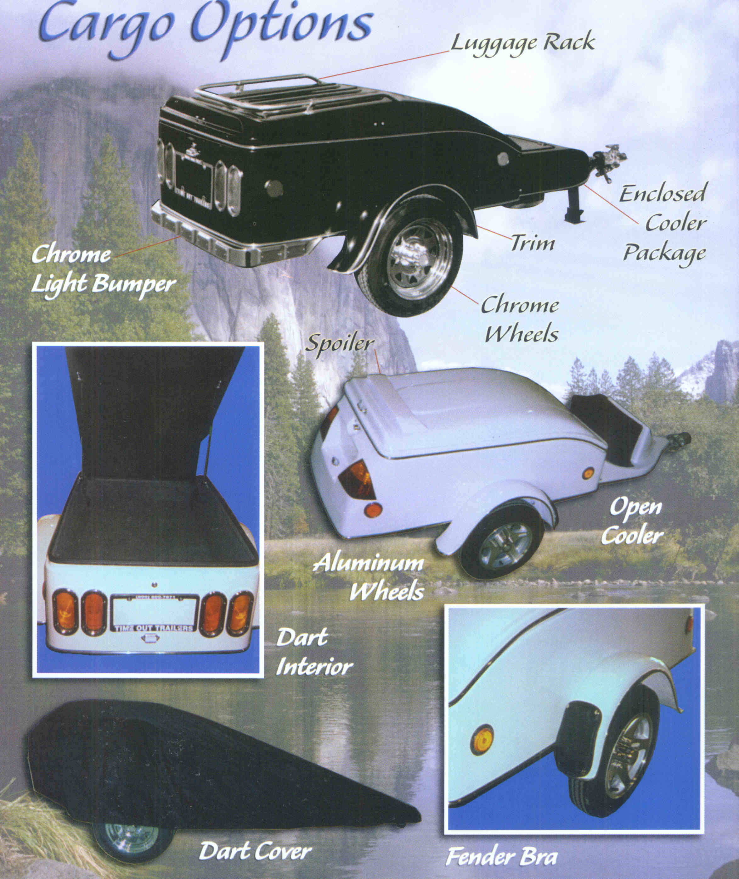 Motorcycle Towable Cargo Trailers Continental Trailer Wiring Diagram Options