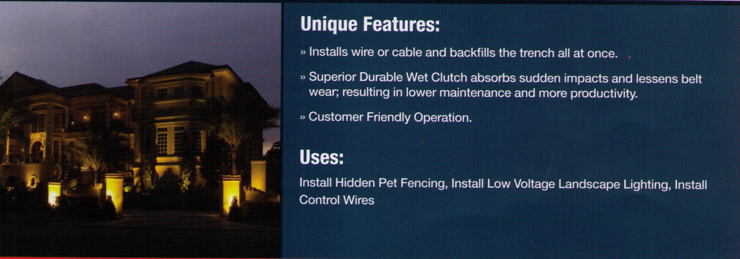 TP400 Cable Installer Features - www.wikco.com