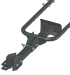 Trailer Hitch Accessory For BXMC Chipper/Shredders