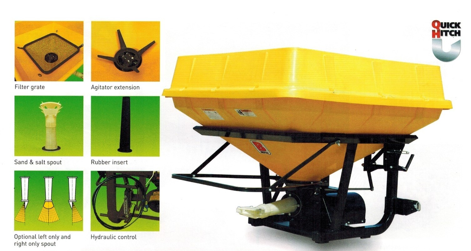 Turbo-Hop 303 Series Pendular Spreaders