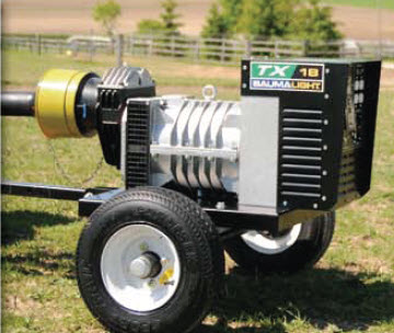 TX Series Trailer Generators