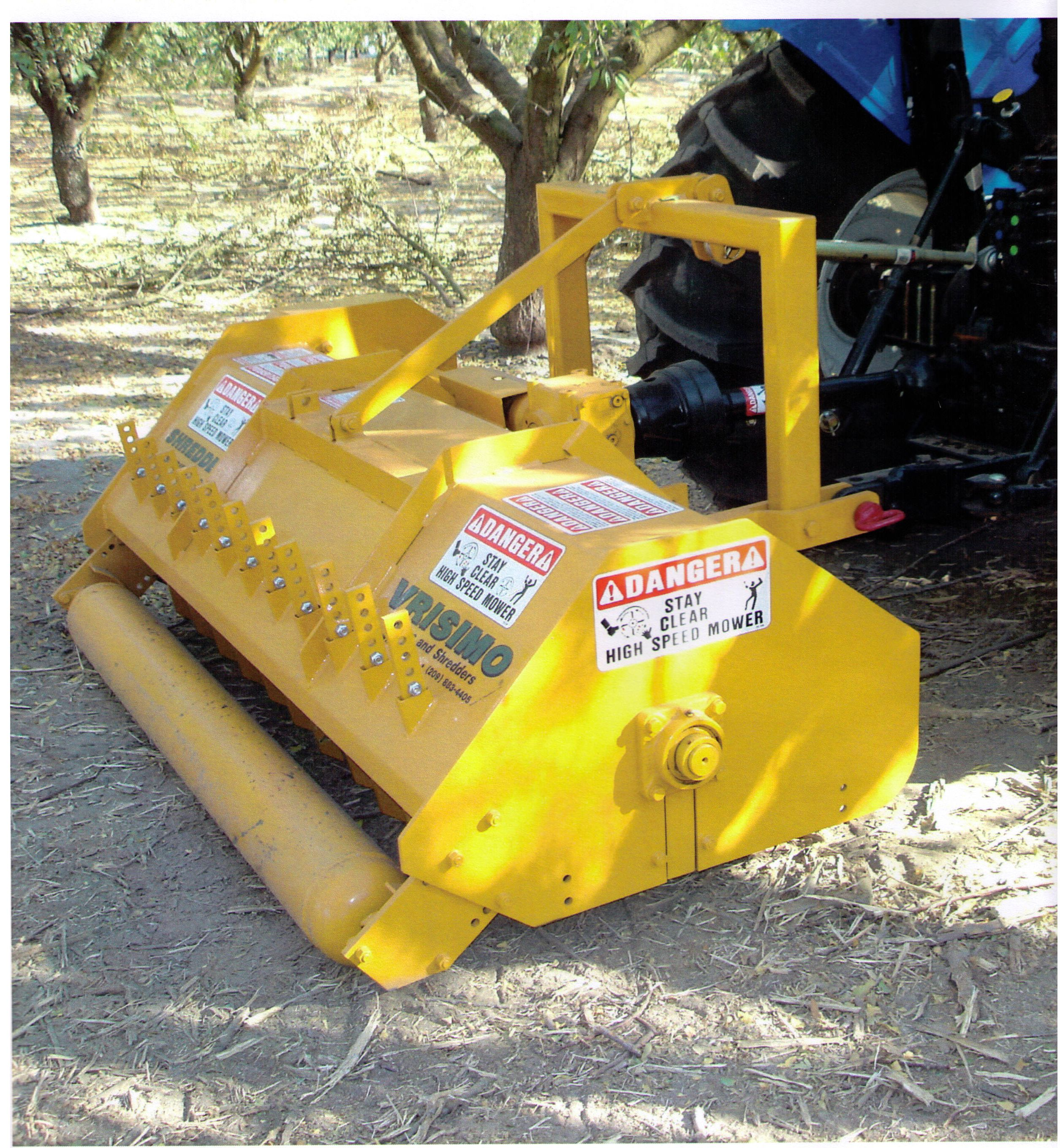 300 Series Brush Shredder
