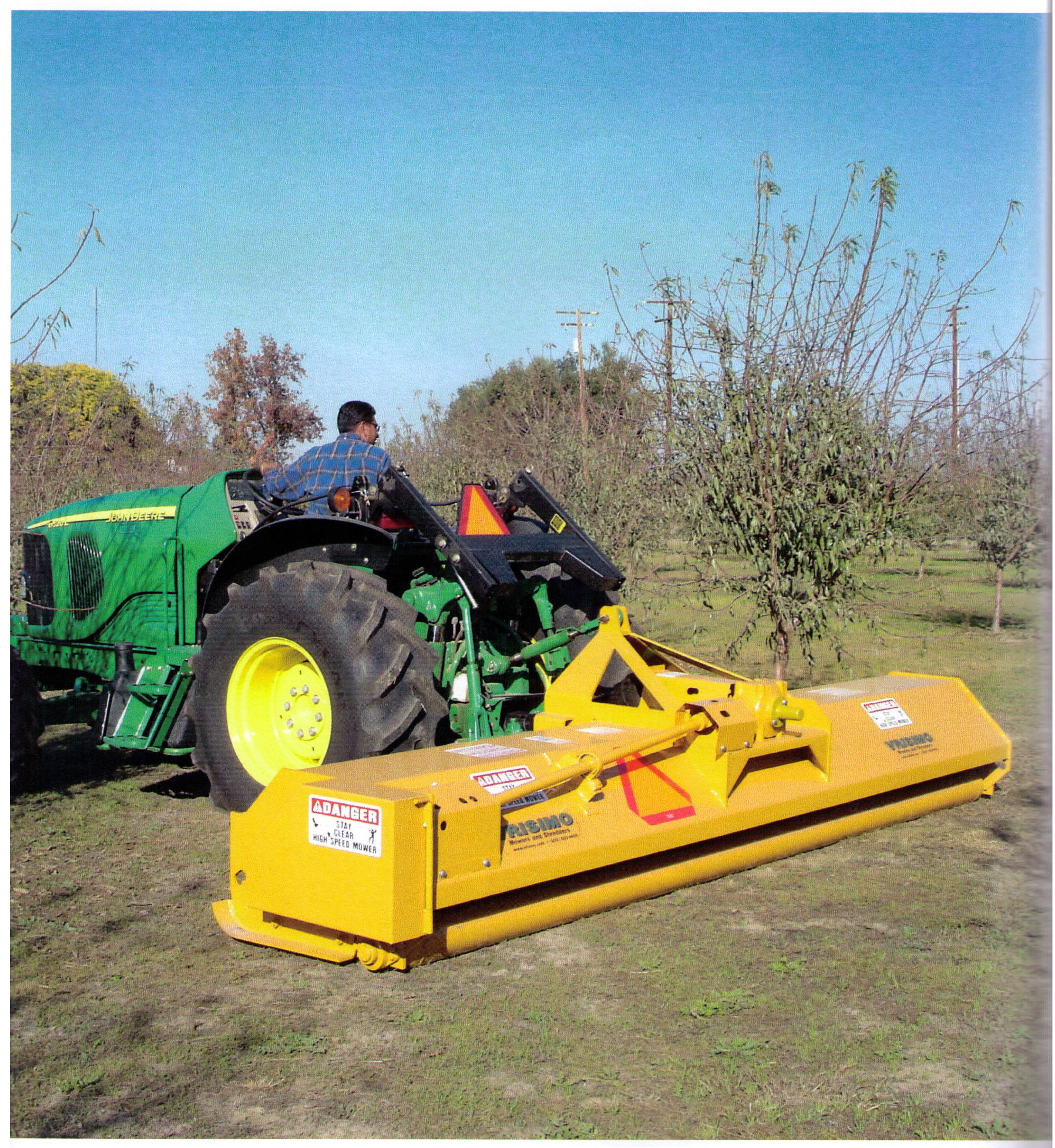 Orchard LP Series Flail Mower Available In Widths Up To 15 Feet
