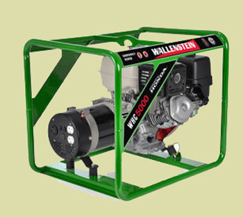 WHC Series Skid Mounted Residential Grade Generator With Honda Engine