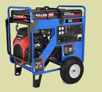 WHS Series Wheel Mounted Heavy Duty Portable Backup Generator With Honda Engine