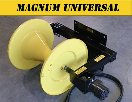 Magnum Wire Roller With Universal Mount