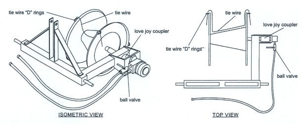 PTHWW Wire Winder Drawing