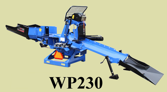 WP Series Three Point Hitch Mount Wood Processor