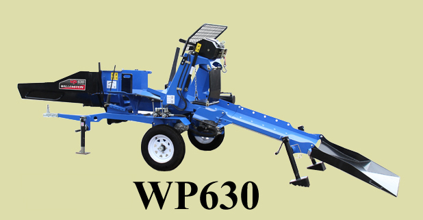 WP Series Portable Tow Behind Wood Processors