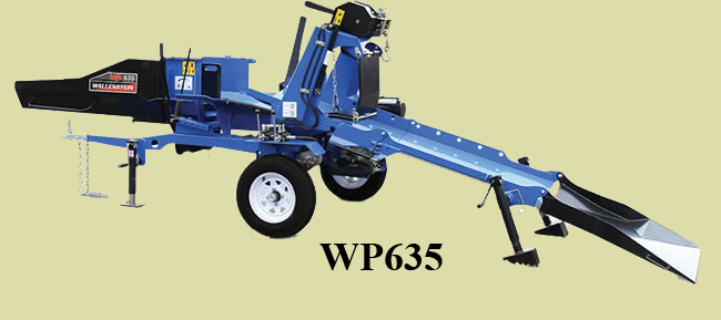 WP635 Tow Behind Wood Processor