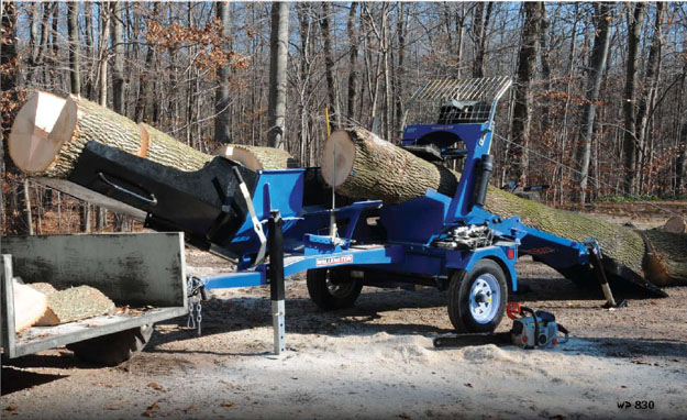 Easily Winch The Longest Logs Into Position