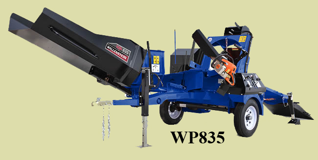 WP835 Tow Behind Wood Processor