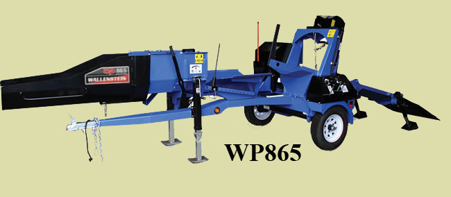 WP865 Tow Behind Wood Processor