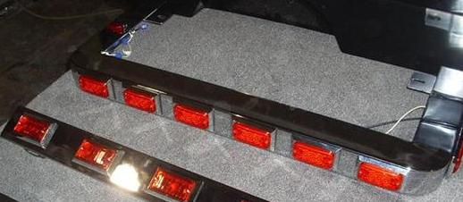Wrap Around Light Bar