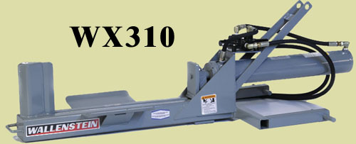 Model WX310 Horizontal Splitter With 24 Inch Long Log Capacity, Three Point Hitch Tractor Mounted