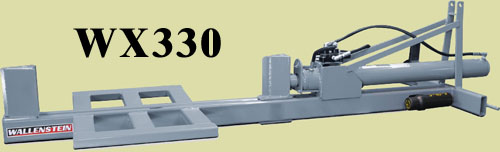 WX330 Three Point Hitch Mount Horizontal Model With 48 Inch Long Log Capacity