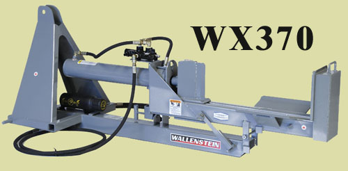 WX370 Three Point Hitch Mount Logsplitter Pivoting Horizontal/Vertical Model With 24 Inch Maximum Log Capacity