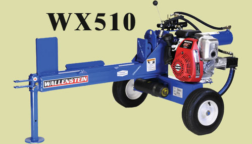 Model WX510 Engine Powered Logsplitter
