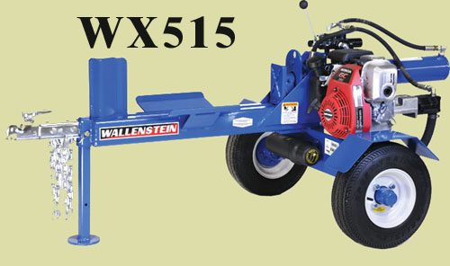 Model WX515 Engine Powered Logsplitter