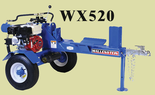 Model WX520 Engine Powered Logsplitter