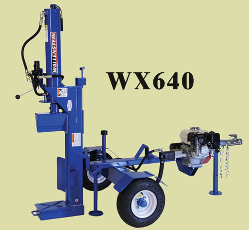 WX640 and WX640-L Tow Behind Combination Vertical/Horizontal Models With Engine Powered Hydraulic System